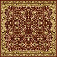 Ковер FLOARE-CARPET шерстяной Floare SUMMER 107-3658 КВАДРАТ